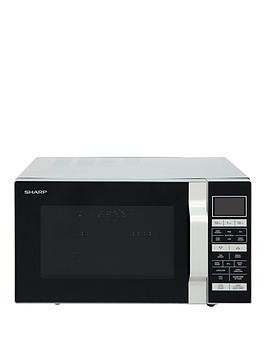 Save £36 at Very on Sharp R860Slm 25-Litre, 900W Flat Tray Combi Microwave - Silver