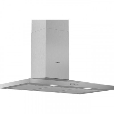 Save £281 at AO on Bosch Serie 2 DWQ94BC50B 90 cm Chimney Cooker Hood - Stainless Steel - D Rated