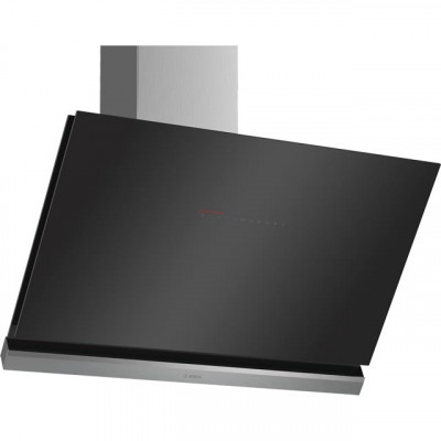 Save £186 at AO on Bosch Serie 8 DWK98PR60B Wifi Connected 89 cm Angled Chimney Cooker Hood - Black - A+ Rated
