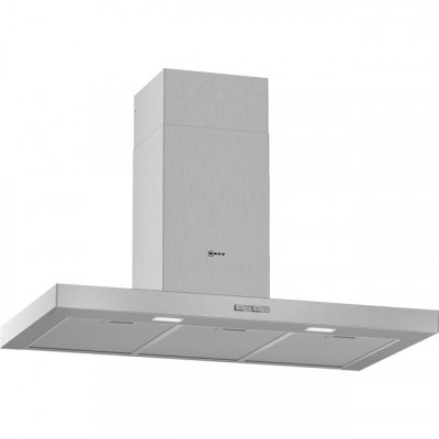 Save £98 at AO on NEFF N30 D92BBC0N0B 90 cm Chimney Cooker Hood - Stainless Steel - D Rated