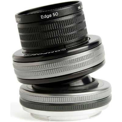 Save £72 at WEX Photo Video on Lensbaby Composer Pro II with Edge 50 Optic - Nikon F Fit