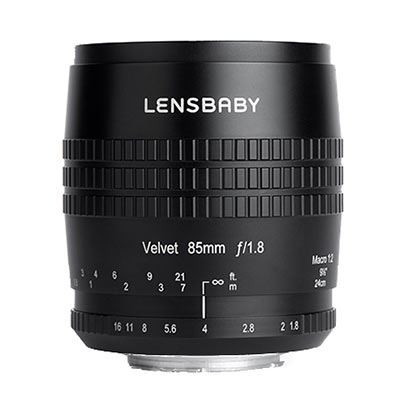 Save £96 at WEX Photo Video on Lensbaby Velvet 85mm f1.8 Lens - Nikon F Fit