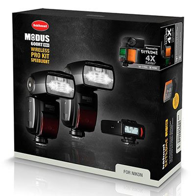 Save £100 at WEX Photo Video on Hahnel Modus 600RT MK II Pro Kit Nikon