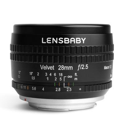 Save £104 at WEX Photo Video on Lensbaby Velvet 28mm f2.5 Lens - Nikon F Fit