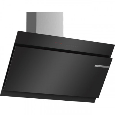 Save £195 at AO on Bosch Serie 6 DWK97JQ60B 89 cm Angled Chimney Cooker Hood - Black - A Rated