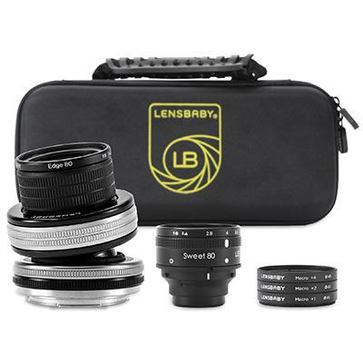 Save £110 at WEX Photo Video on Lensbaby Optic Swap Macro Collection - Nikon F Fit