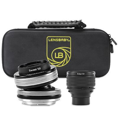 Save £91 at WEX Photo Video on Lensbaby Optic Swap Intro Collection - Nikon F Fit