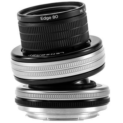 Save £82 at WEX Photo Video on Lensbaby Composer Pro II with Edge 80 Optic - Nikon F Fit
