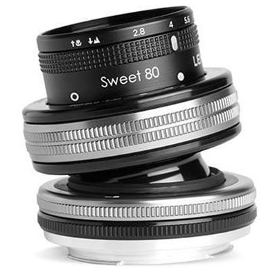 Save £82 at WEX Photo Video on Lensbaby Composer Pro II with Sweet 80 Optic - Nikon Z Fit