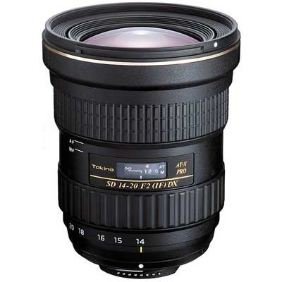 Save £389 at WEX Photo Video on Tokina 14-20mm f2 AT-X PRO DX Lens - Nikon Fit