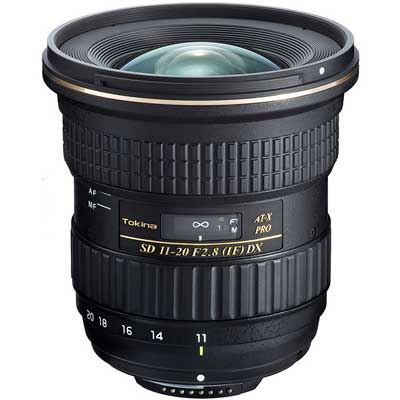 Save £120 at WEX Photo Video on Tokina 11-20mm f2.8 AT-X PRO DX Lens - Nikon Fit