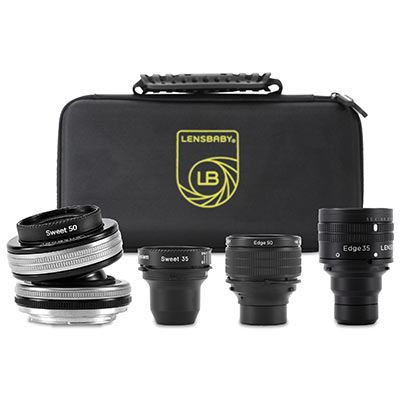 Save £146 at WEX Photo Video on Lensbaby Optic Swap Founders Collection - Nikon F Fit