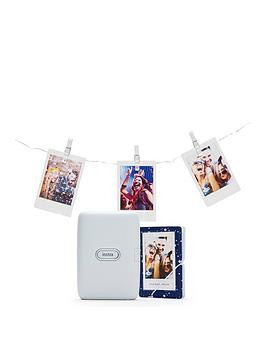 Save £20 at Very on Fujifilm Instax Mini Link Printer Bundle Inc Led Lights And Album- Ash White