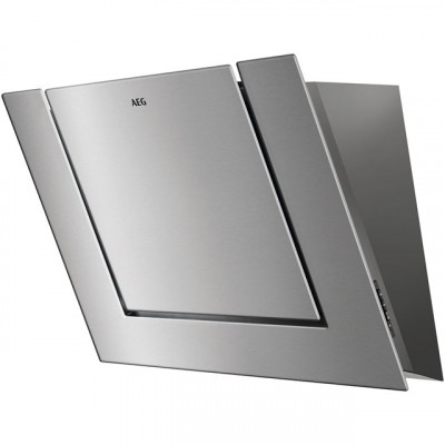 Save £350 at AO on AEG DVB4850M 80 cm Angled Chimney Cooker Hood - Stainless Steel - B Rated