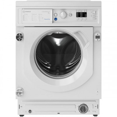 Save £39 at AO on Indesit BIWMIL91484UK Integrated 9Kg Washing Machine with 1400 rpm - White - A+++ Rated