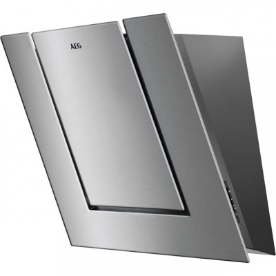 Save £256 at AO on AEG DVB4550M 55 cm Angled Chimney Cooker Hood - Stainless Steel - B Rated
