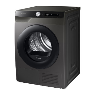 Save £130 at PRCDirect on Samsung DV80T5220AX/S1 A+++ 8kg Heat Pump Tumble Dryer, Graphite