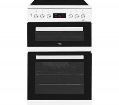 Save £91 at Currys on BEKO XDC653W 60 cm Electric Ceramic Cooker - White, White