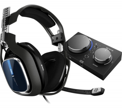 Save £50 at Currys on ASTRO A40TR Gaming Headset & MixAmp Pro - Black, PS4, Black