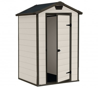 Save £50 at Argos on Keter Manor Apex Garden Storage Shed 4 x 3ft – Beige/Brown
