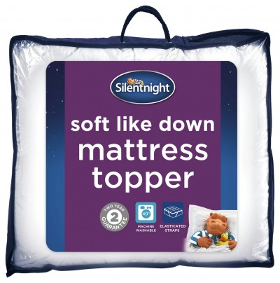 Save £7 at Argos on Silentnight Soft Like Down Mattress Topper - Single