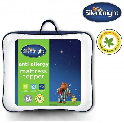 Save £6 at Argos on Silentnight Anti-Allergy Mattress Topper - Single