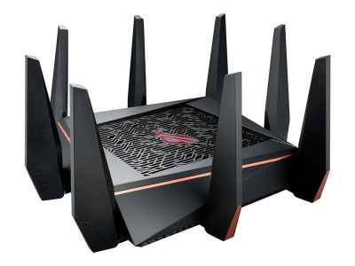 Save £75 at Ebuyer on ASUS ROG Rapture (GT-AC5300) AC5300 Wireless Tri-Band GB Cable Router