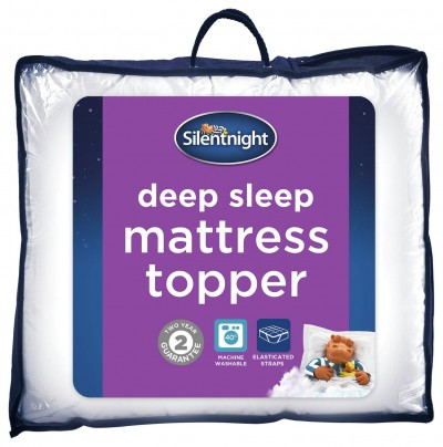 Save £6 at Argos on Silentnight Deep Sleep Mattress Topper - Single