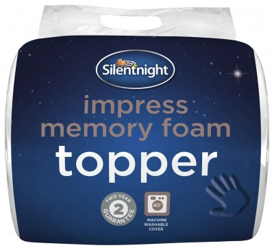 Save £14 at Argos on Silentnight 2.5cm Memory Foam Mattress Topper - Single