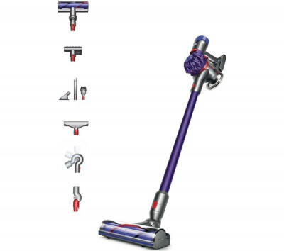 Save £100 at Currys on DYSON V7 Animal Extra Cordless Vacuum Cleaner - Purple, Purple
