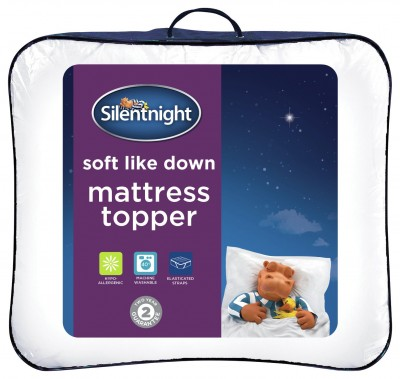 Save £8 at Argos on Silentnight Soft Like Down Mattress Topper - Double