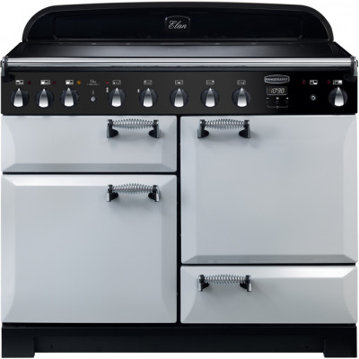Save £830 at AO on Rangemaster Elan Deluxe ELA110EIRP 110cm Electric Range Cooker with Induction Hob - Royal Pearl - A/A Rated