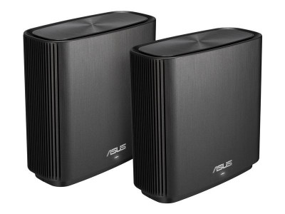 Save £58 at Ebuyer on ASUS ZenWiFi AC (CT8) Wireless Router Tri-band (2.4 GHz / 5 GHz / 5 GHz) Gigabit Ethernet -Black 2PACK