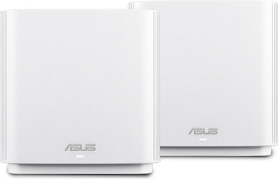 Save £58 at Ebuyer on ASUS ZenWiFi AC (CT8) Wireless Router Tri-band (2.4 GHz / 5 GHz / 5 GHz) Gigabit Ethernet - White 2 PACK