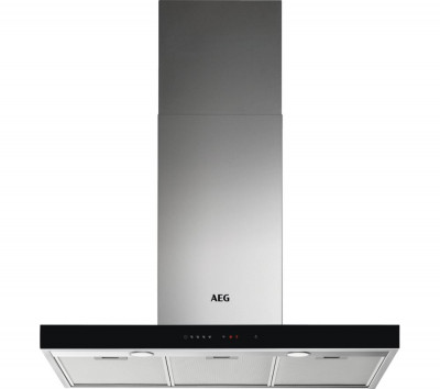 Save £130 at Currys on AEG DBE5961HG Chimney Cooker Hood - Stainless Steel, Stainless Steel