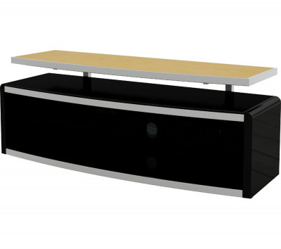 Save £50 at Currys on AVF Stage 1250 mm TV Stand - Black, Black