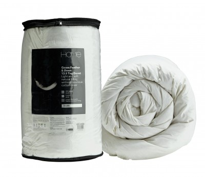 Save £22 at Argos on Argos Home Goose Feather & Down 13.5 Tog Duvet - Superking