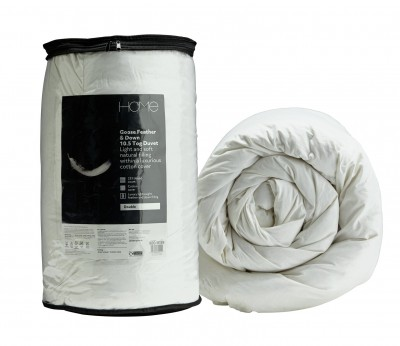 Save £20 at Argos on Argos Home Goose Feather & Down 10.5 Tog Duvet - Superking