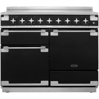 Save £339 at AO on Rangemaster Elise ELS110EIGB 110cm Electric Range Cooker with Induction Hob - Black - A/A Rated