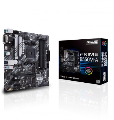 Save £36 at Ebuyer on ASUS PRIME B550M-A DDR4 mATX Motherboard