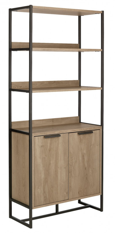 Save £46 at Argos on Argos Home Nomad Display Cabinet - Light Oak Effect
