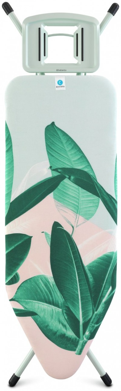 Save £22 at Argos on Brabantia 124cm x 45cm Ironing Board - Tropical Leaves