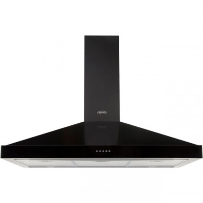Save £79 at AO on Belling FARMHOUSE 90 CHIM 90 cm Chimney Cooker Hood - Black - D Rated