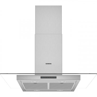 Save £320 at AO on Siemens IQ-300 LF97GBM50B 90 cm Chimney Cooker Hood - Stainless Steel - B Rated