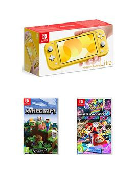 Save £30 at Very on Nintendo Switch Lite Console With Minecraft  Mario Kart 8
