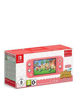 Save £30 at Very on Nintendo Switch Lite Console With Animal Crossing New Horizons + Free 3 Months Nintendo Switch Online