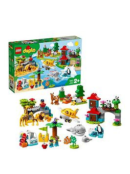 Save £9 at Very on Lego Duplo 10907 World Animals Toddlers Toys