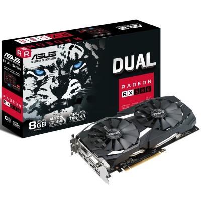 Save £24 at Ebuyer on Asus Radeon RX 580 Dual 8GB OC Graphics Card