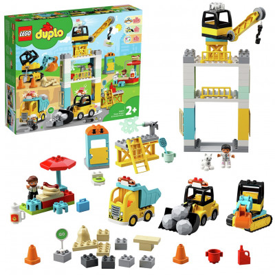 Save £15 at Argos on LEGO DUPLO Tower Crane & Construction Vehicle - 10933