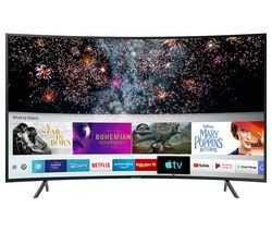 "Save £50 at Currys on SAMSUNG UE49RU7300KXXU 49"" Smart 4K Ultra HD HDR Curved LED TV"